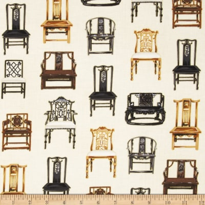 Oriental Traditions Metallic Chairs Antique