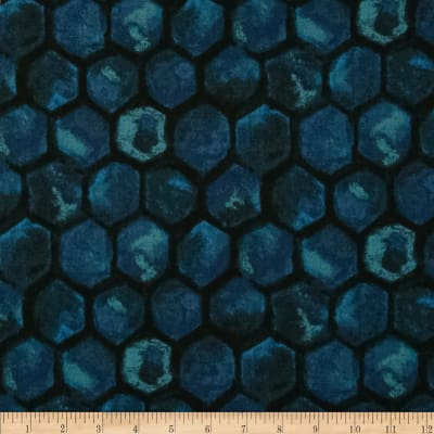 Kim's Hand Dyes 2 Stones Teal