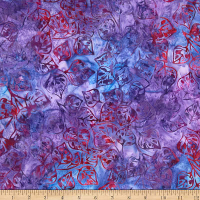 Artisan Batiks Grove Small Leaves Tropical