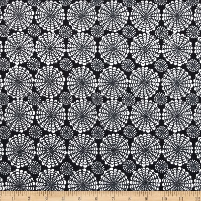 Valori Wells Ashton Road Flannel Flower Spray Black