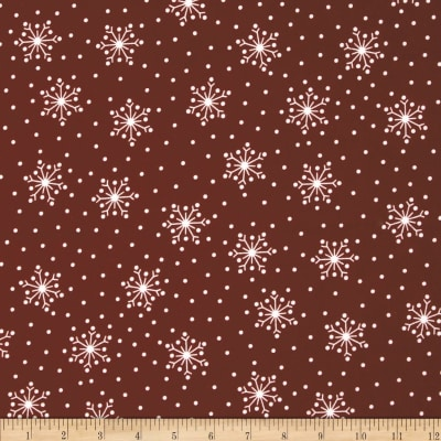 Crazy for Christmas Flannel Snowflake