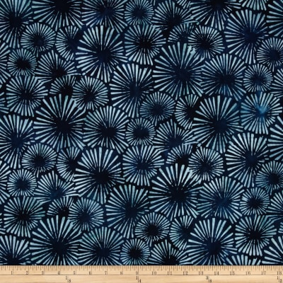 Artisan Batiks Color Source Starburst Indigo