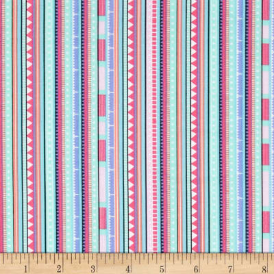 Timeless Treasures Carnival Stripe Pastel