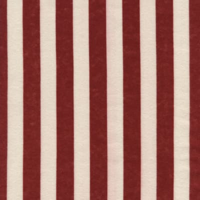 Timeless Treasures Flannel Stripe Red