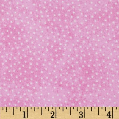 Comfy Flannel Micro Dot Pink