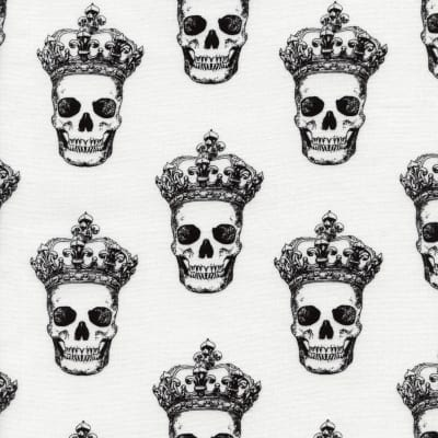 Timeless Treasures Skulls White