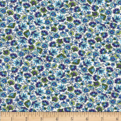 Timeless Treasures Belize Calico Floral Cream
