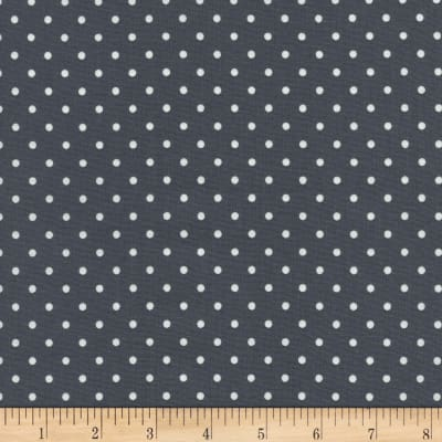 Timeless Treasures Polka Dots Steel