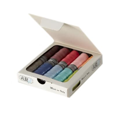 Vanessa Christenson Aurifil Simply Color Thread Collection 10 Small Spools 28WT