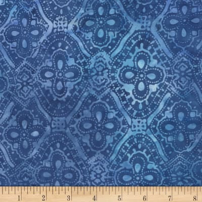Timeless Treasures Tonga Batik Capri Kumera Wave