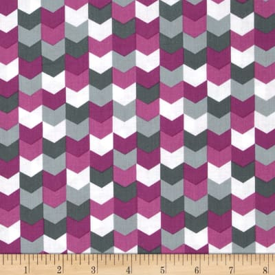 Kinetic Herringbone Purple