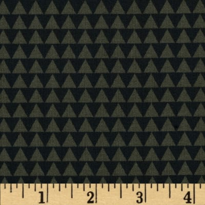 Wild Field Triangles Olive