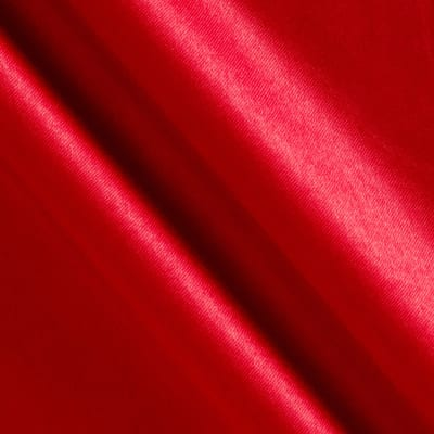Costume Satin Red