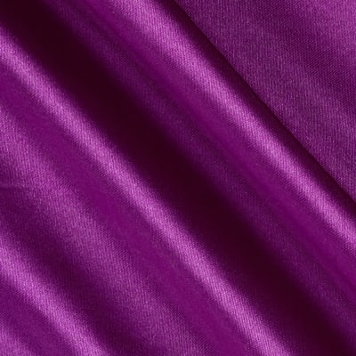 Costume Satin Plum