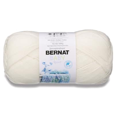 Bernat Big Ball Baby Yarn Baby Ecru