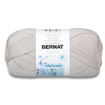 Bernat Big Ball Baby Yarn Baby Grey