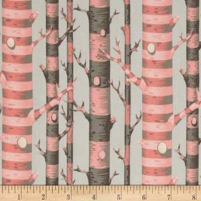 Tula Pink Bumble Forest Stripe Sorbet