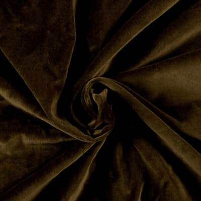 45'' Alpine Cotton Velvet Chocolate