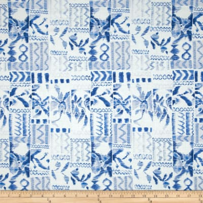 Tea Garden Garden Swatch Blue