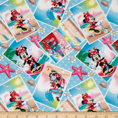 Disney Minnie Mouse Summertime Blue