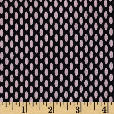 World of Romance Oval Dot Black/Pink