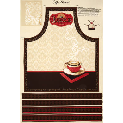 Coffee Moment Apron Panel Multi