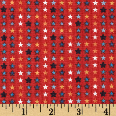 Blast-Off Ordered Stars Red
