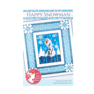Its Sew Emma Happy Snowman Quilt Pattern