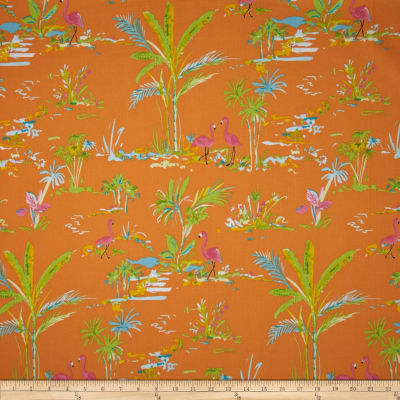 Chinoiserie Chic Paradise Orange