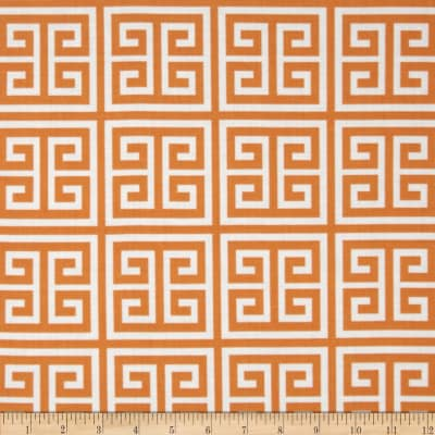 Chinoiserie Chic Frette Orange
