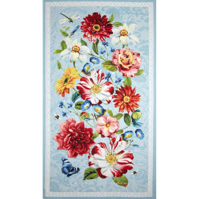 Rainbow Garden Large Panel Multi
