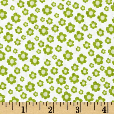 Pretty Little Things Floral Ditzy Green