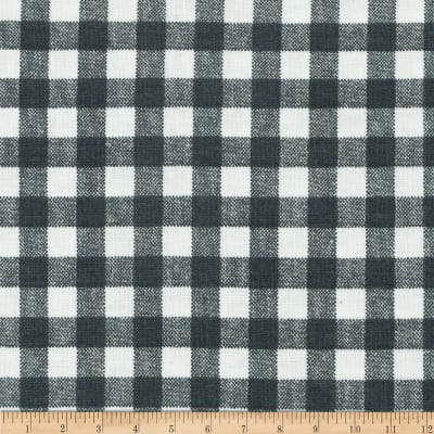 Basic Training Gingham Grey/White