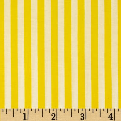 Basic Training Stripe Yellow/White
