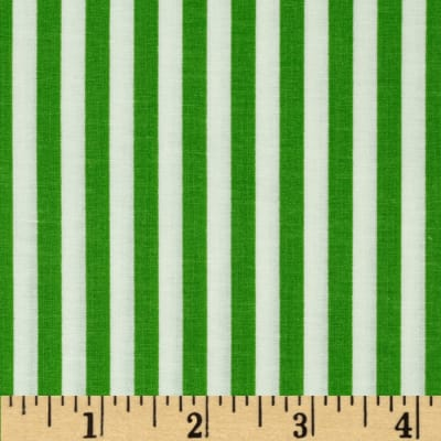 Basic Training Stripe Lime Green/White