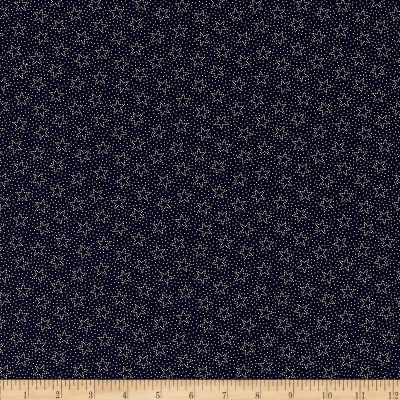 Made in the USA Dotted Stars Navy