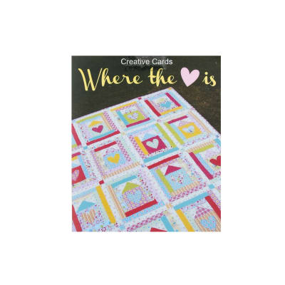 Melly & Me Where My Heart Is Block Quilt Pattern
