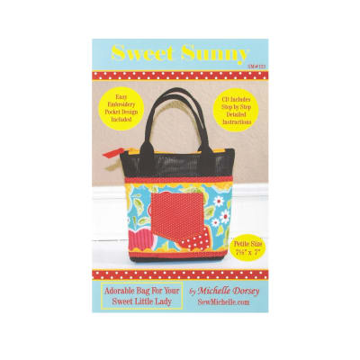 Sew Michelle Sweet Sunny Bag Pattern