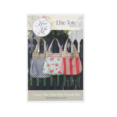 Kenzie & Mac Elite Tote Pattern