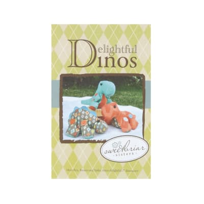Sweetbriar Sisters Delightful Dinos Stuffed Animal Pattern