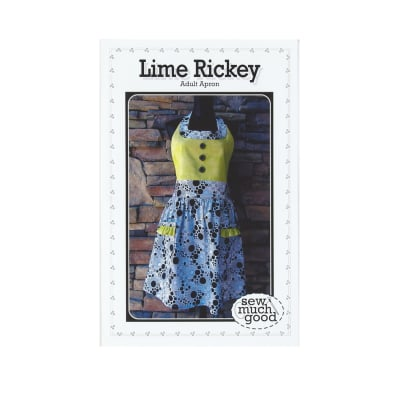 Sew Much Good Lime Rickey Apron Pattern