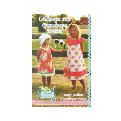 Lilac Lane Lollipops And Gumdrops Dress Pattern