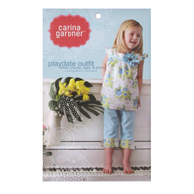 Carina Gardener Playdate Outfit Pattern