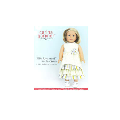 Carina Gardener Little Love Nest Ruffle Dress Pattern