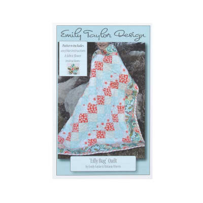 Emily Taylor Designs Lilly Bug Quilt Pattern