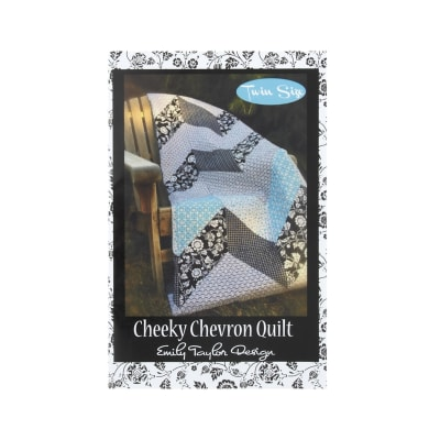 Emily Taylor Designs Cheekly Chevron Quilt Pattern