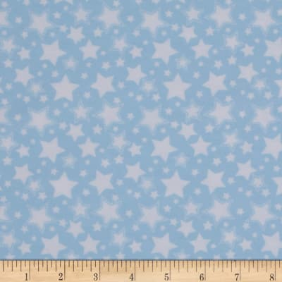 Dreamland Flannel Starry Night Dreamy Blue
