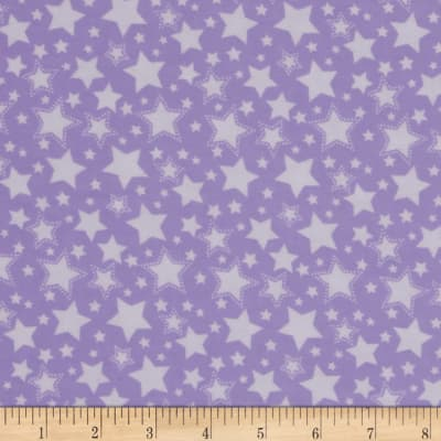 Dreamland Flannel Starry Night Lavender Lily