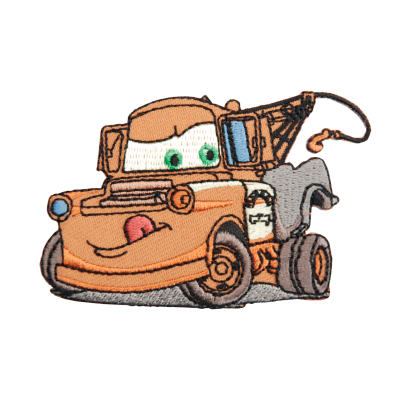 Disney Cars Iron On Applique Tow Mater