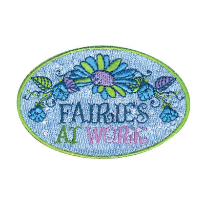 Disney Fairies Iron On Applique Fairies At Work